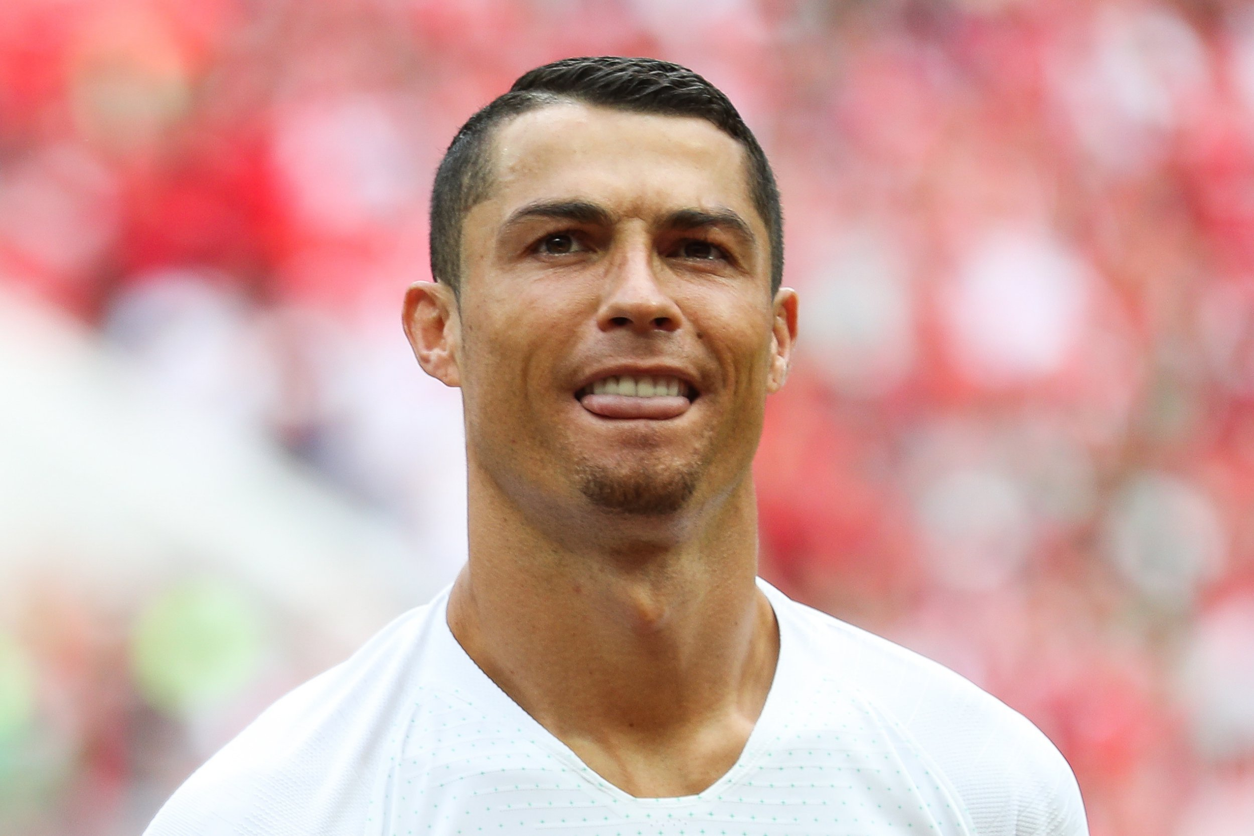 Cristiano Ronaldo reveals why he's growing a goatee beard during the World Cup