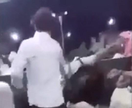 Police filmed manhandling distressed schoolboy after woman