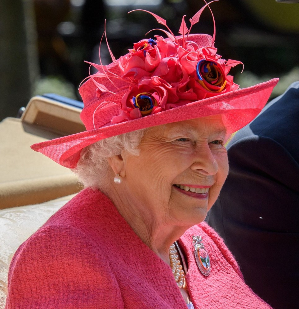 Mandatory Credit: Photo by Tim Rooke/REX/Shutterstock (9723600w) Queen Elizabeth II Royal Ascot, Day Three, UK - 21 Jun 2018