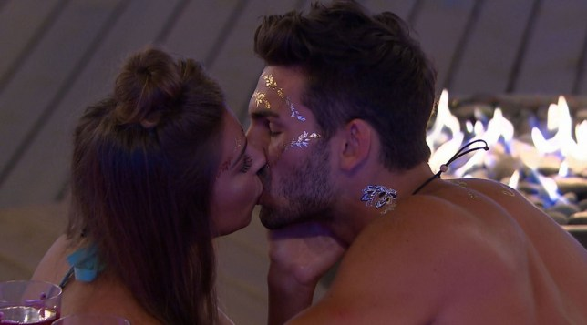 Editorial Use Only. No Merchandising. No Commercial Use. Mandatory Credit: Photo by ITV/REX/Shutterstock (9723837aa) Is Zara about to tame Adam? 'Love Island' TV Show, Series 4, Episode 17, Majorca, Spain - 21 Jun 2018