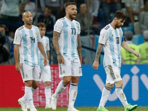 Argentina relying on Iceland slip-up to qualify for last 16 of World Cup