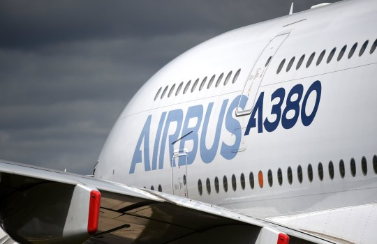 "File photo dated 16/7/2017 of an Airbus A380 on display at the Farnborough International Airshow in Hampshire. The aerospace firm has warned it could pull out of the UK with the loss of thousands of jobs in the event of a ""no-deal"" Brexit. PRESS ASSOCIATION Photo. Issue date: Thursday June 21, 2018. The firm, which employs 14,000 people at 25 sites across the country, said it would ""reconsider its investments in the UK, and its long-term footprint in the country"" if Britain crashed out of the single market and customs union without a transition agreement. See PA story POLITICS Brexit Airbus. Photo credit should read: Andrew Matthews/PA Wire"