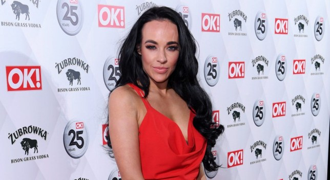 Mandatory Credit: Photo by David Fisher/REX/Shutterstock (9472660ap) Stephanie Davis OK! Magazine's 25th anniversary party, The Shard, London, UK - 21 Mar 2018