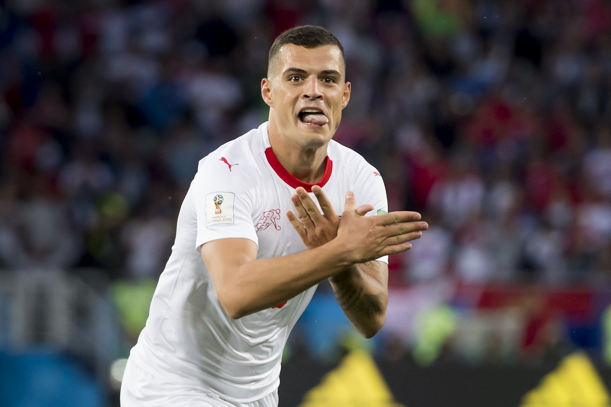 Granit Xhaka and Xherdan Shaqiri face fines from FIFA for celebrations in Switzerland's win against Serbia