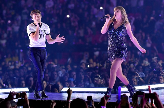 Niall Horan surprises fans as he joins Taylor Swift on-stage in