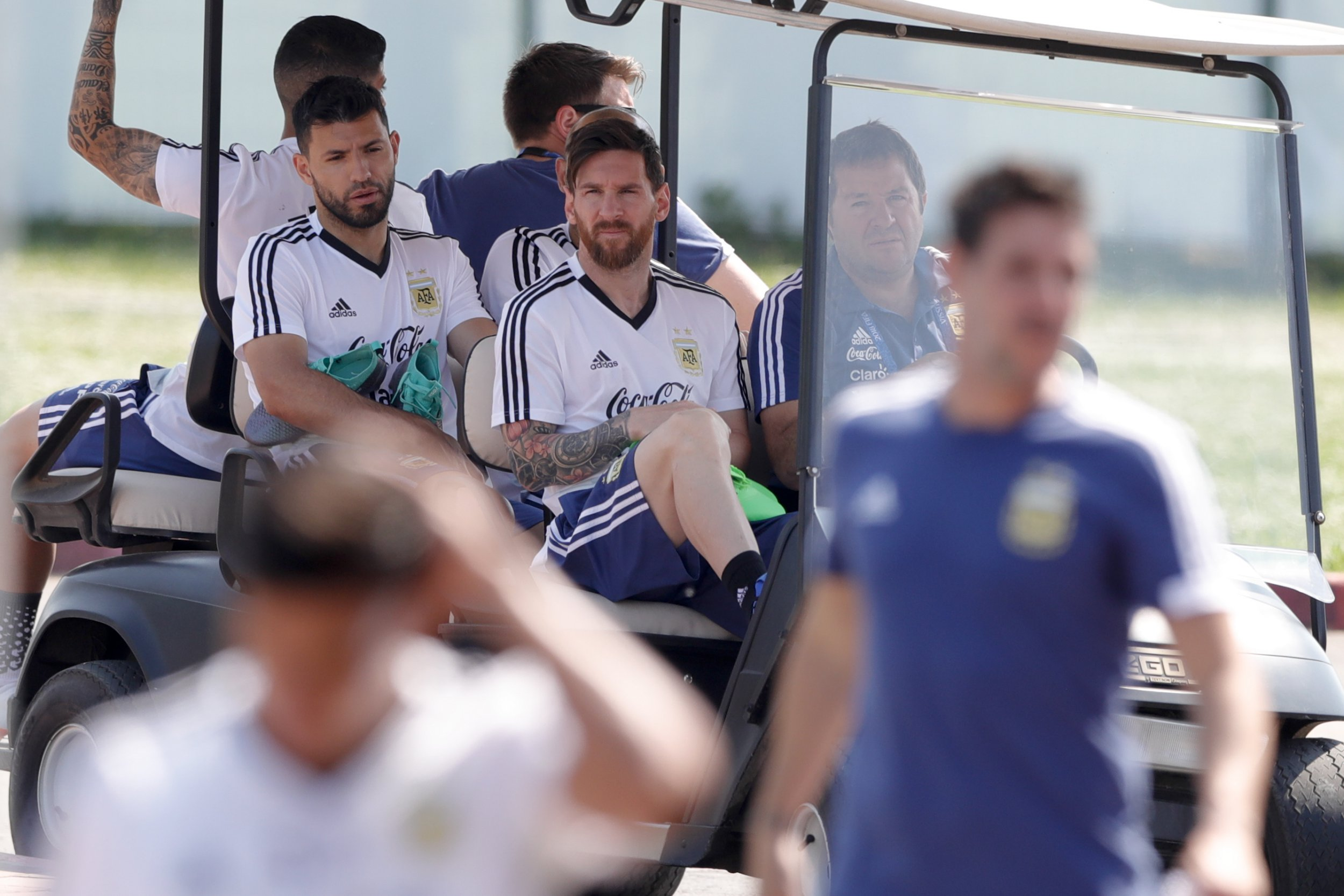Sergio Aguero to be benched for Argentina's World Cup decider after failed player revolt