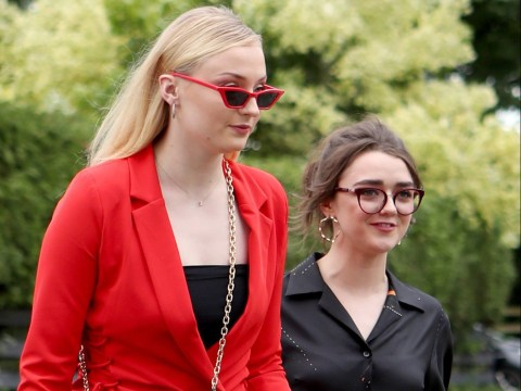 Sophie Turner and Maisie Williams lead Game Of Thrones stars at Kit Harington and Rose Leslie's wedding