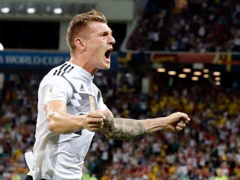 Toni Kroos saves Germany with their latest ever World Cup goal against Sweden