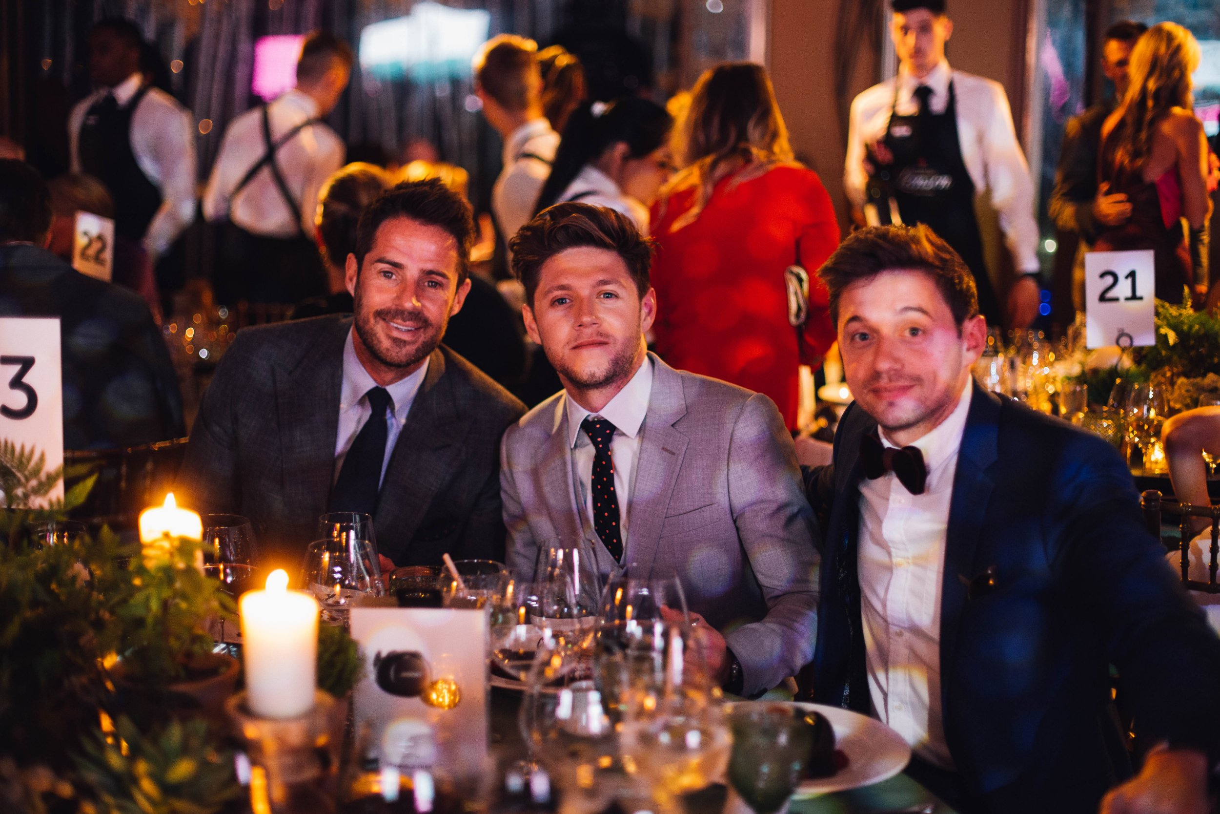 Inside Niall Horan's charity bash with pals Jamie Rednapp and Olly Murs where he dropped £32.5k on luxury holiday