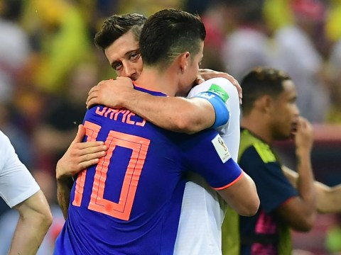 World Cup fans unearth tweet sent to James Rodriguez by Robert Lewandowski after Poland exit