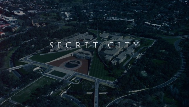 Secret City cast and show pics