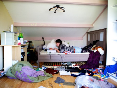 Mum wants to kick her daughter out of her room for 'living in filth'
