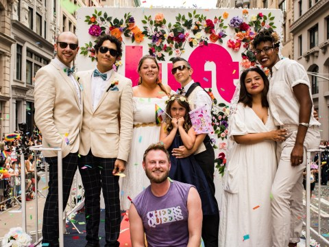 Queer Eye's Bobby Berk officiated the wedding of three couples at New York Pride