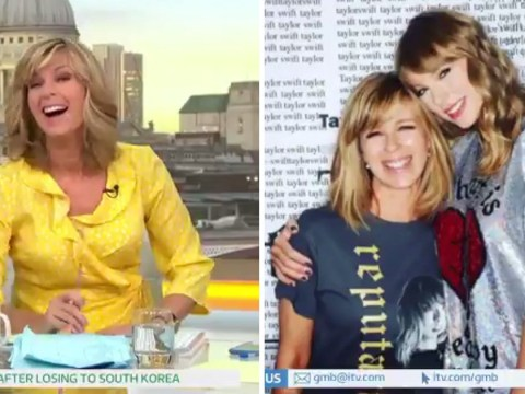 Kate Garraway mistaken for Taylor Swift's mother by singer's own security