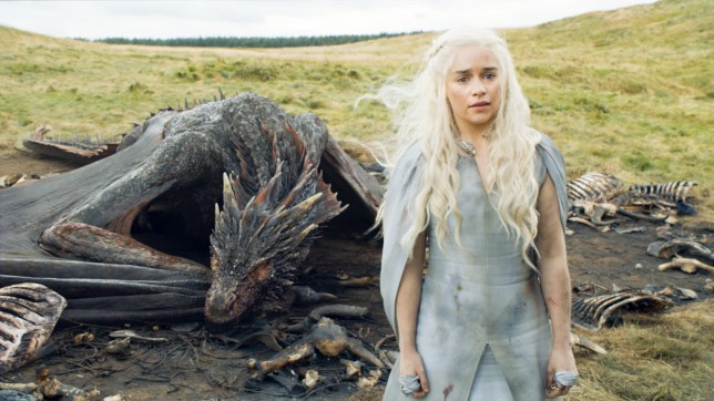 Game of Thrones, Series 5,Episode 10,Mother's Mercy,Sky Atlantic, Clarke, Emilia as Daenerys Targaryen