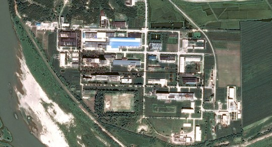 North Korea???s Yongbyon Nuclear Scientific Research Center Credit: Pleaides ?? CNES 2018, Distribution Airbus DS Zoomed in from this source: https://www.intelligence-airbusds.com/en/5751-image-gallery-details?img=48240&search=gallery&market=0&world=0&sensor=0&continent=0&keyword=Yongbyon#.Wzes1FuPJhE