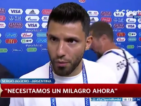 Sergio Aguero hits out at Argentina boss Jorge Sampaoli after Croatia defeat