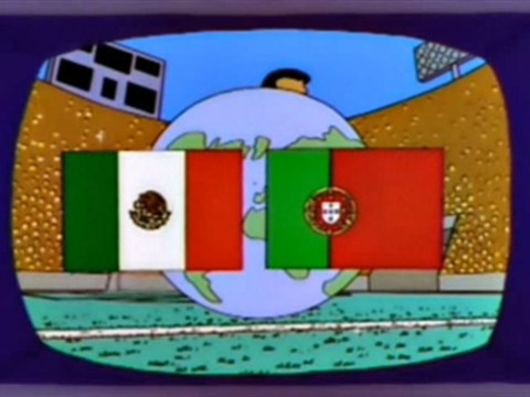 Sorry, The Simpsons haven't predicted who will be in the World Cup final
