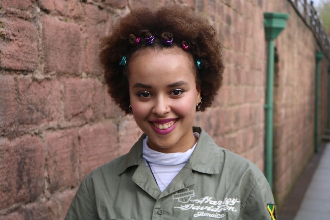 Talia Grant who plays Brooke Hathaway in Hollyoaks