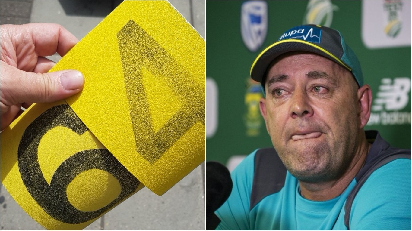 Darren Lehmann responds to England fans taunting Australia over ball-tampering