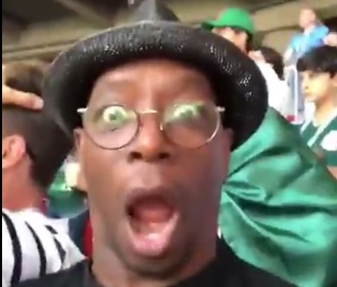 Ian Wright reacts in utter disbelief to Lionel Messi's World Cup penalty miss against Iceland