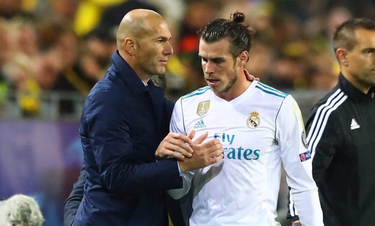 The WhatsApp message Zinedine Zidane sent Real Madrid players which Gareth Bale ignored