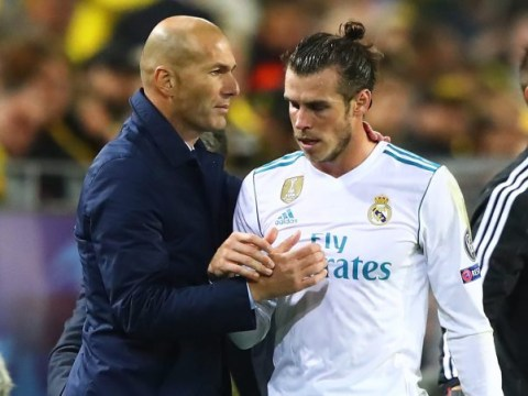The WhatsApp message Zinedine Zidane sent Real Madrid players which Gareth Bale ignored