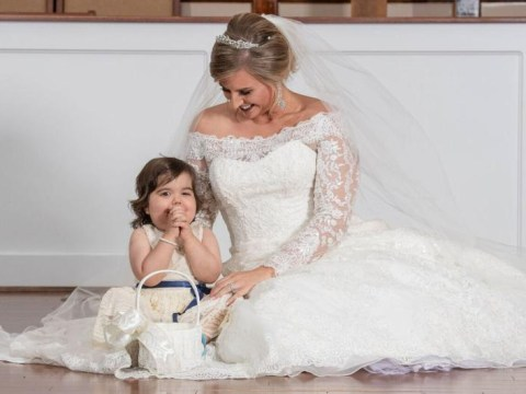 I saved a girl's life by signing up to be a bone marrow donor – then she became the flower girl at my wedding
