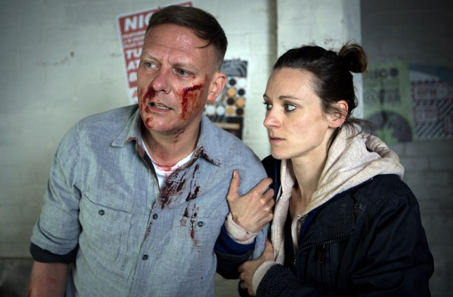 Sean is attacked in Coronation Street