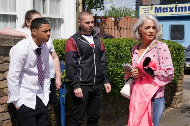 Hannah Spearritt returns to EastEnders