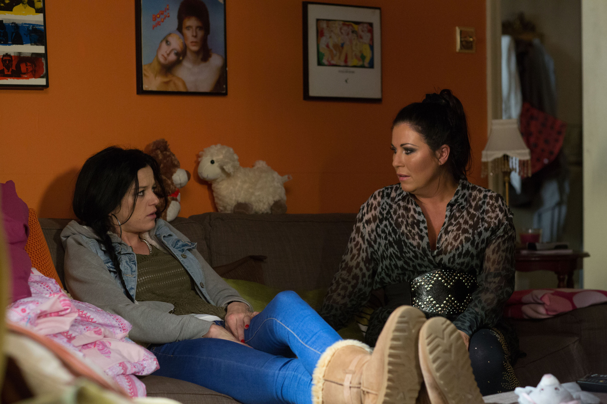 EastEnders spoilers: Kat Moon and Hayley Slater bond but will Kat find out about Hayley's pregnancy?