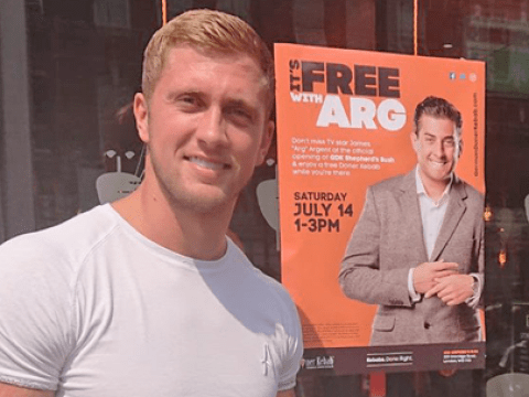 Arg skips kebab shop opening party and sends Dan Osborne instead despite being paid £5000