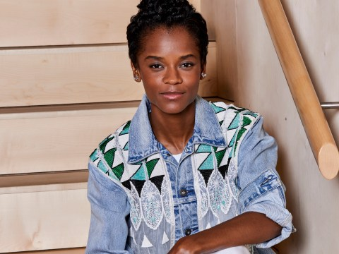Black Panther's Letitia Wright is 'shining a light' on girls in tech and we're here for it