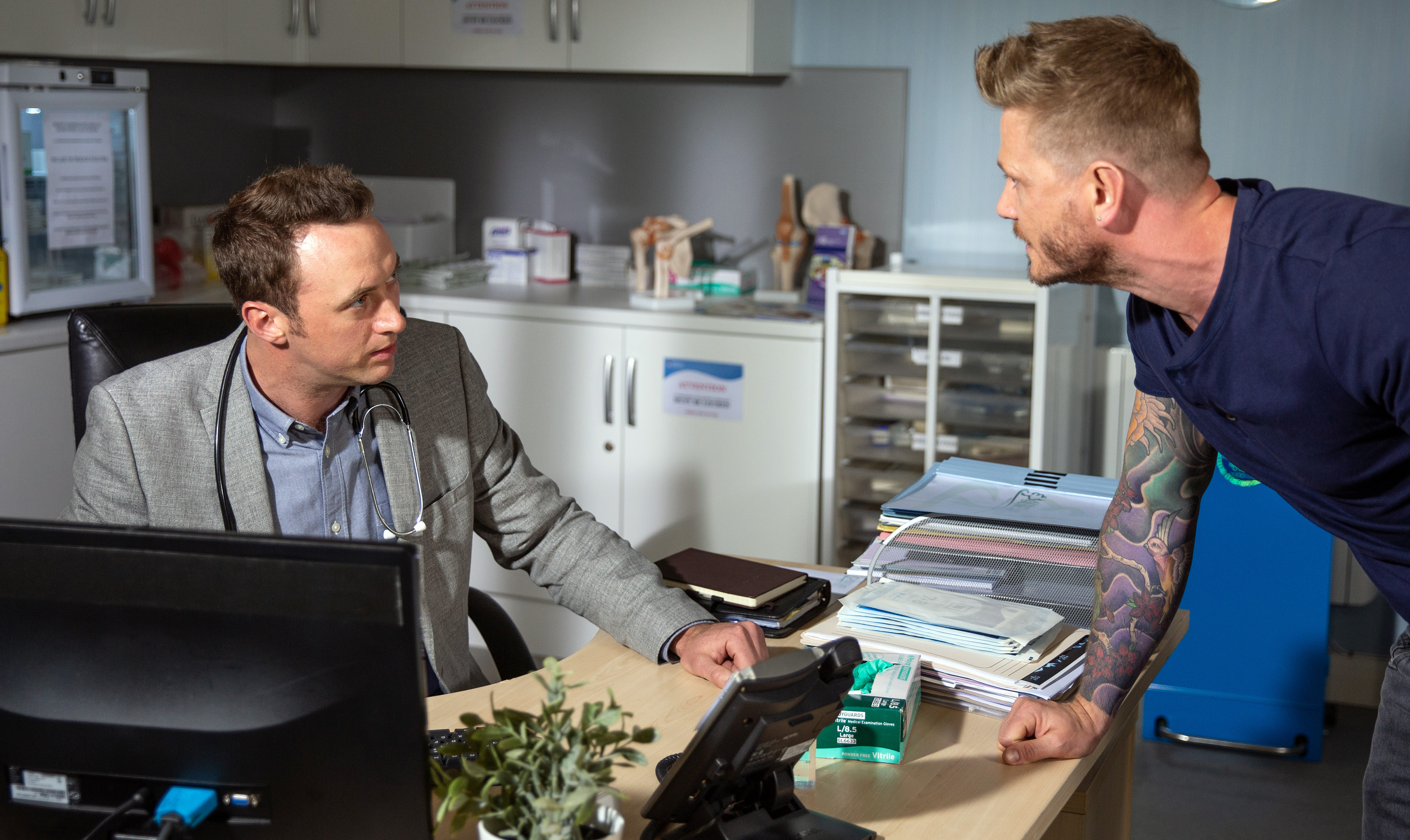 Emmerdale spoilers: David clashes with Maya's ex as Tracy reveals a secret