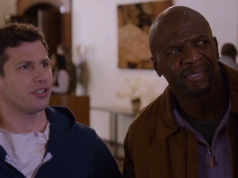 Terry Crews backed by team Brooklyn 99 as he discusses sexual assault in the US senate