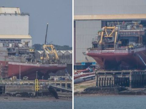 First pictures of 'Boaty McBoatface' ahead of maiden voyage