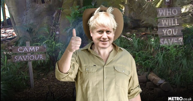 Boris Johnson 20/1 to go on I'm A Celebrity picture: REX