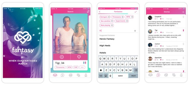 Picture: Fantasy App Dating app matches you based on fetishes