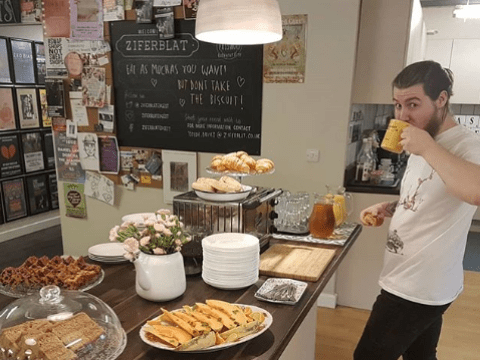 There's a cafe coming to Birmingham offering unlimited free food and drink
