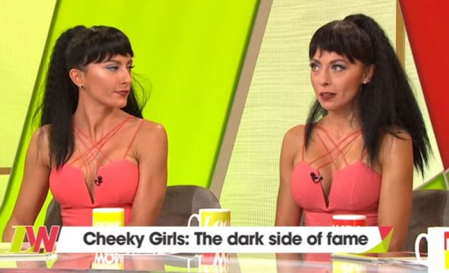 Cheeky Girls on Loose Women, London
