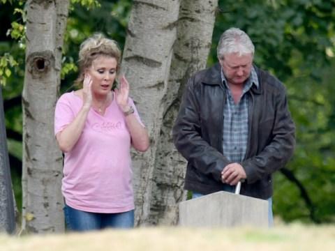 Coronation Street spoilers: Jim and Liz McDonald reunite beside their daughter's grave