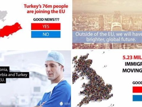 Did you believe these Vote Leave ads an MP called 'lies and bullsh*t'?