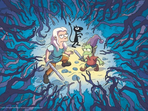 Disenchantment review: Matt Groening's Netflix series is a tired medieval fantasy throwback