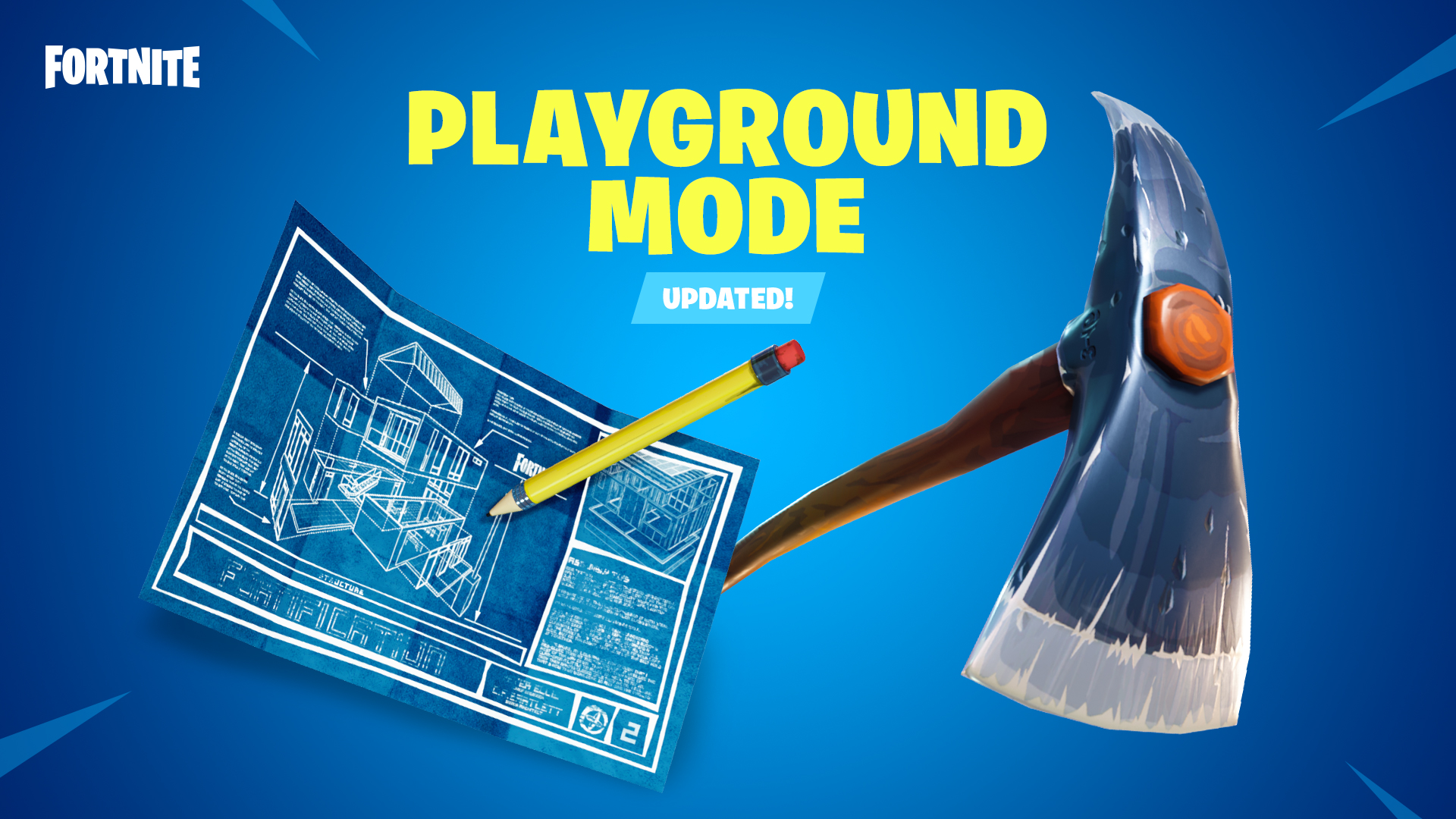 When is Fortnite Playground v2 released and what's being changed?