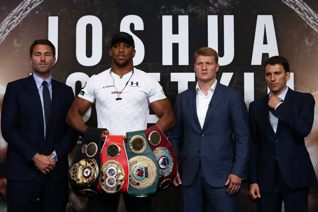 Anthony Joshua vs Alexander Povetkin undercard, tickets, TV channel, date, time and odds