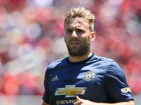 Luke Shaw keen to stay at Manchester United despite interest from Wolfsburg