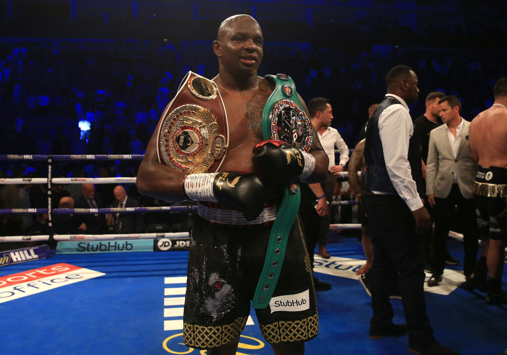 Dillian Whyte sets possible date for Anthony Joshua or Deontay Wilder clashes