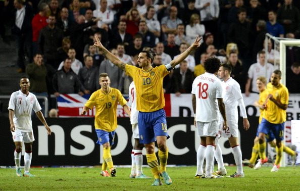 England's record against Sweden in their previous meetings is not that encouraging