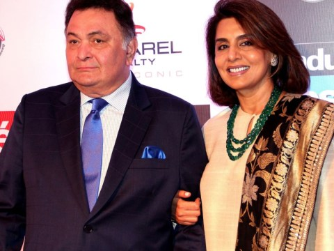 Bollywood legend Neetu Kapoor is surrounded by her family for lavish 60th birthday celebrations
