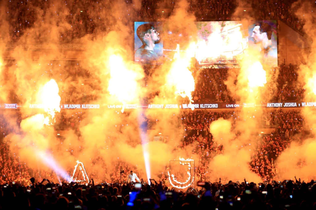 Anthony Joshua to fight at Wembley Stadium on September 22 and April 13